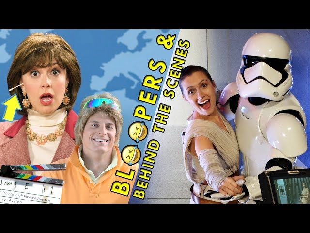 BLOOPERS & BTS (You're Not Fooling Anyone ft. Tyler Scheid, Second-to-Last Jedi)