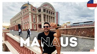 O QUE FAZER em MANAUS no AMAZONAS? Restaurantes, hotel, bares e história da cidade - 42/60 #Brasil60