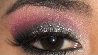 Valentines Makeup Tutorial - Glittery Pink Smokey Eye Thumbnail