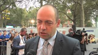 Gareth Neame  talks George Clooney in Downton Abbey at CTBF Charity Gala Screening interview