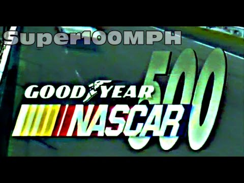 1988 NASCAR Goodyear 500 Calder Thunderdome
