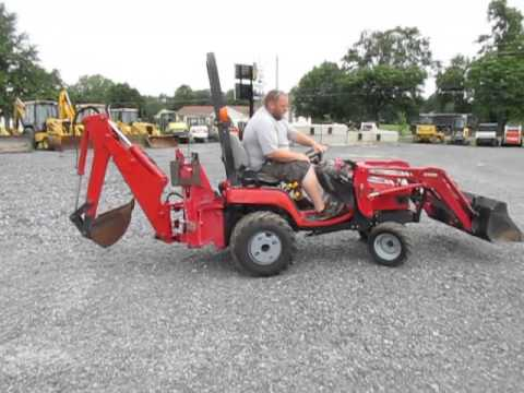 Mey Ferguson Gc2310 4x4 Compact Tractor Loader Backhoe