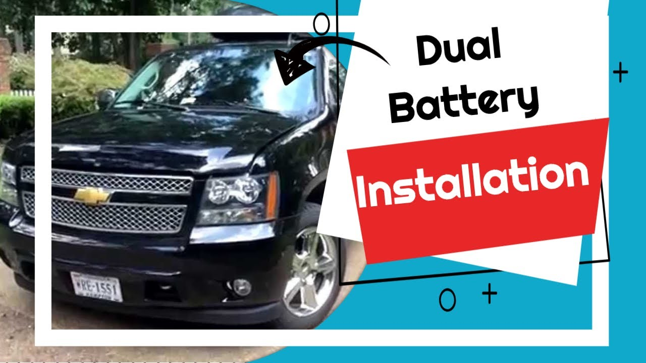 Dual Battery Installation Chevy Suburban Reinstalling Main. Dual Battery Installation Chevy Suburban Reinstalling Main Part 16 Youtube. Chevrolet. Chevy Truck Dual Battery Wiring At Scoala.co