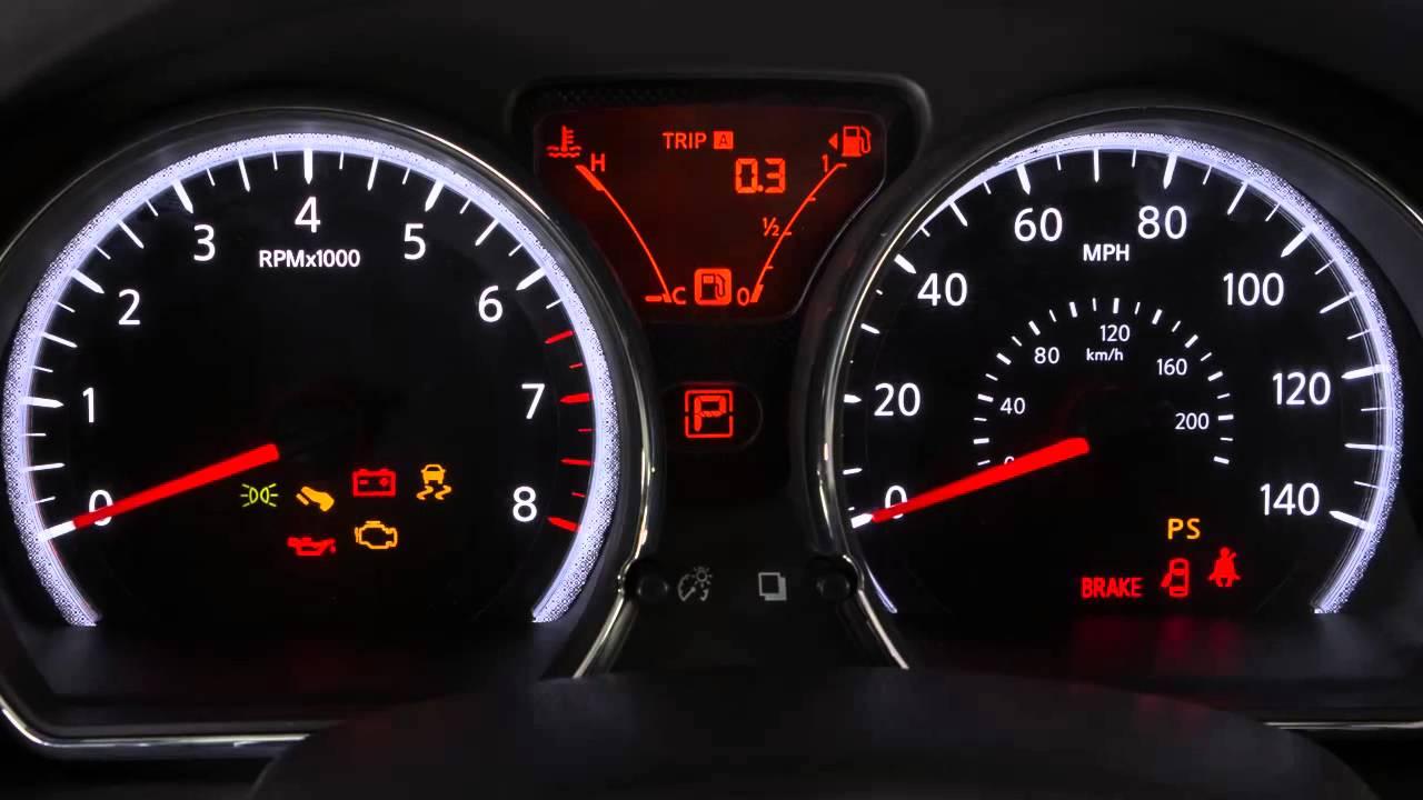 2007 Nissan Versa Dash Lights Not Working