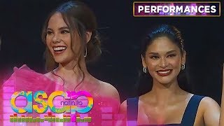 Pia Wurtzbach and Catriona Gray grace the stage | ASAP Natin 'To
