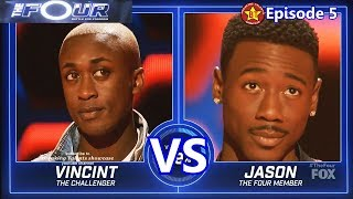 Vincint vs Jason Warrior with Results &Comments The Four S01...