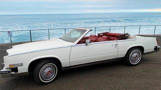 Cadillac Eldorado 1984 Кабриолет!  Автомобиль для души !!  Такого качества больше...