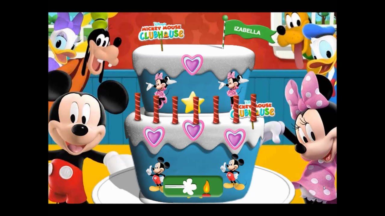 Nick Jr Cake Making Game