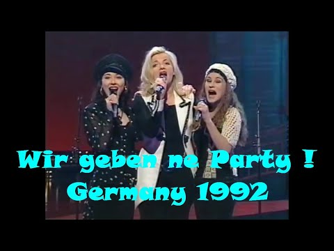 1994 Germany: Mekado - Wir geben ne Party (3rd place at Eurovision Song Contest in Dublin)