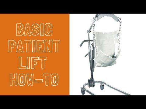 Basic Operation Of Your Hoyer Lift