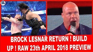 WWE Raw 23rd April 2018 Highlights Preview [HINDI] ! Greatest Royal Rumble Build Up