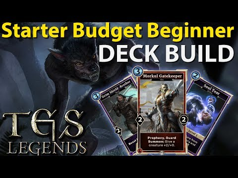 Starter Budget Beginner Deck | The Elder Scrolls Legends Beginner Helpline
