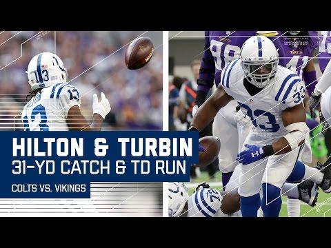 Andrew Lucks 31-Yard Pass to T.Y. Hilton Sets Up Robert Turbins TD!   NFL Week 15 Highlights