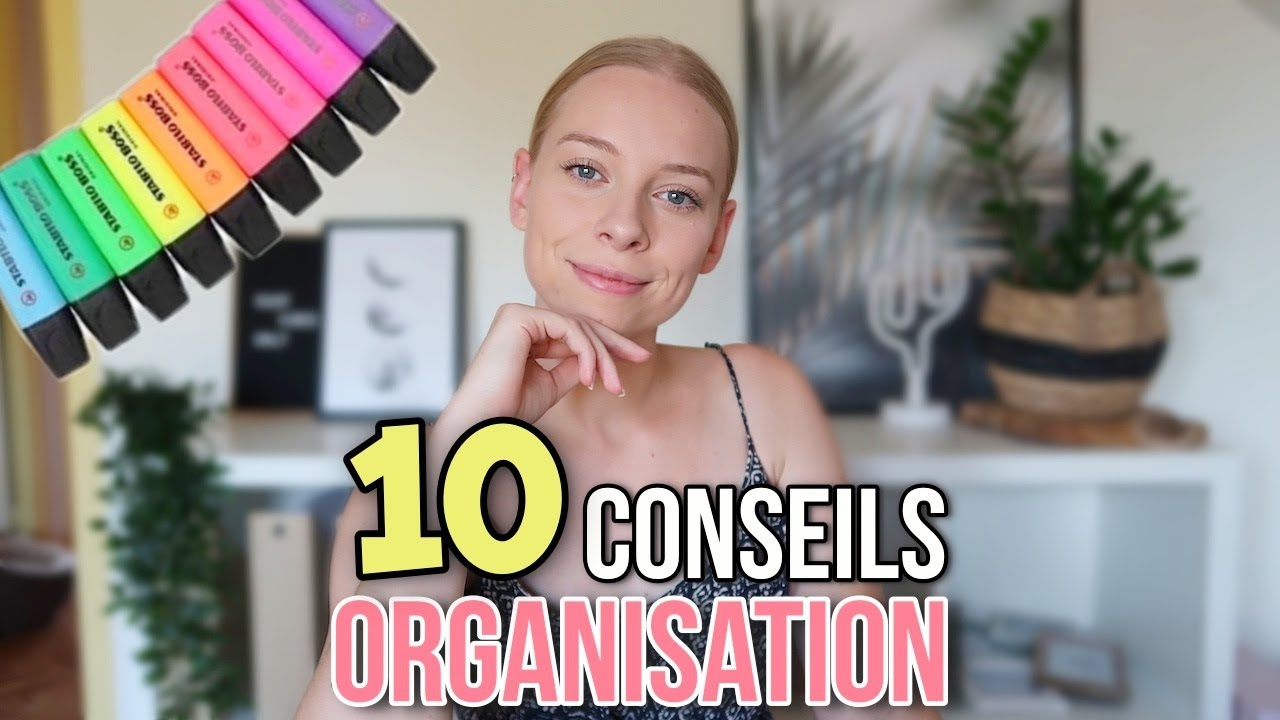10 CONSEILS : ORGANISATION POUR LA RENTRÉE (Prof des écoles)