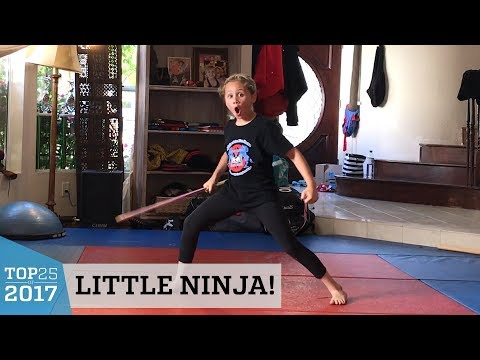 Extreme Martial Arts Kid's Bo Staff Tricks   Top 25 of 2017