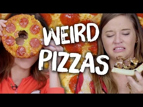 6 Weird Types of Pizza (Cheat Day)