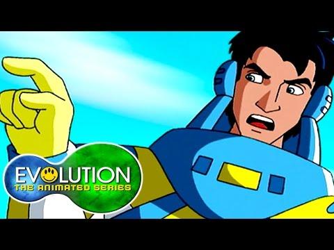 Evolution: The Animated Series | Swarm! | HD | Full Episode | Superhero Cartoon