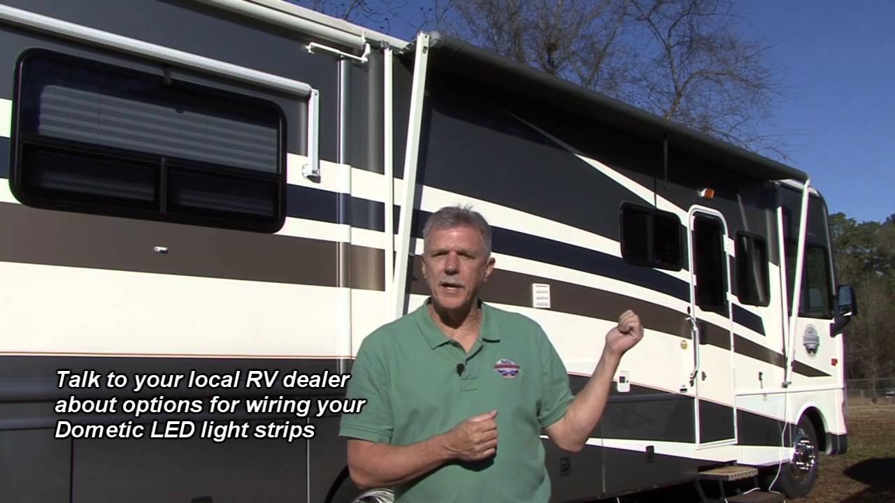 Outdoor Rv Lights Rv trailer outdoor lights new for 2016 led patio awning lights with led lighting for your rv by dometic youtube workwithnaturefo