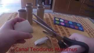 Manualidades Con Rollos De Papel Higiénico Fáciles Y Baratas Youtube