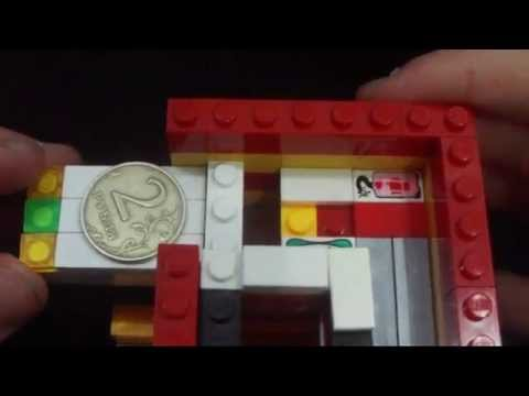 Как сделать лего конфетницу (V7) (RUS) / How to make lego candy machine (V7)