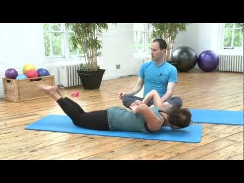 Double Leg Kick Pilates Exercise from yoopod.com