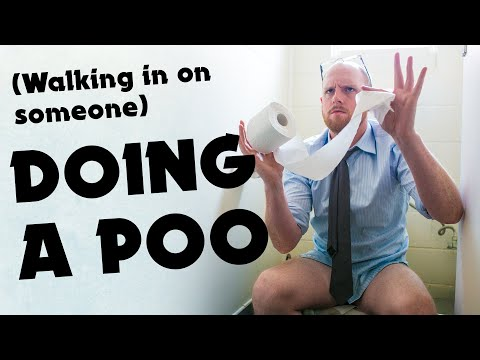 (Walking in on Someone) Doin' a Poo - Music Video #8 / Aunty Donna - The Album