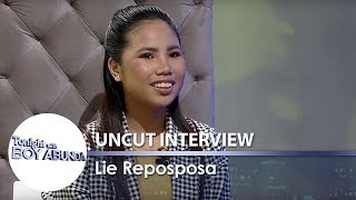 TWBA Uncut Interview: Lie Reposposa