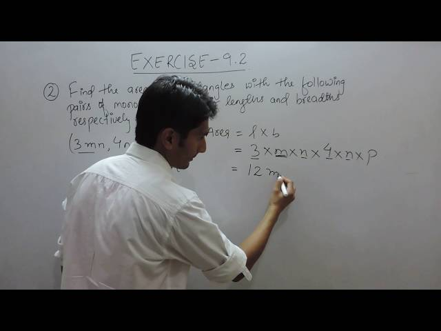Exercise 9.2 - Question 2 (iv) NCERT Solutions for Class 8th Maths Algebraic Expressions