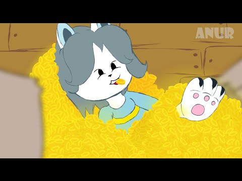 Undertale - Temmie get money (By Anur)