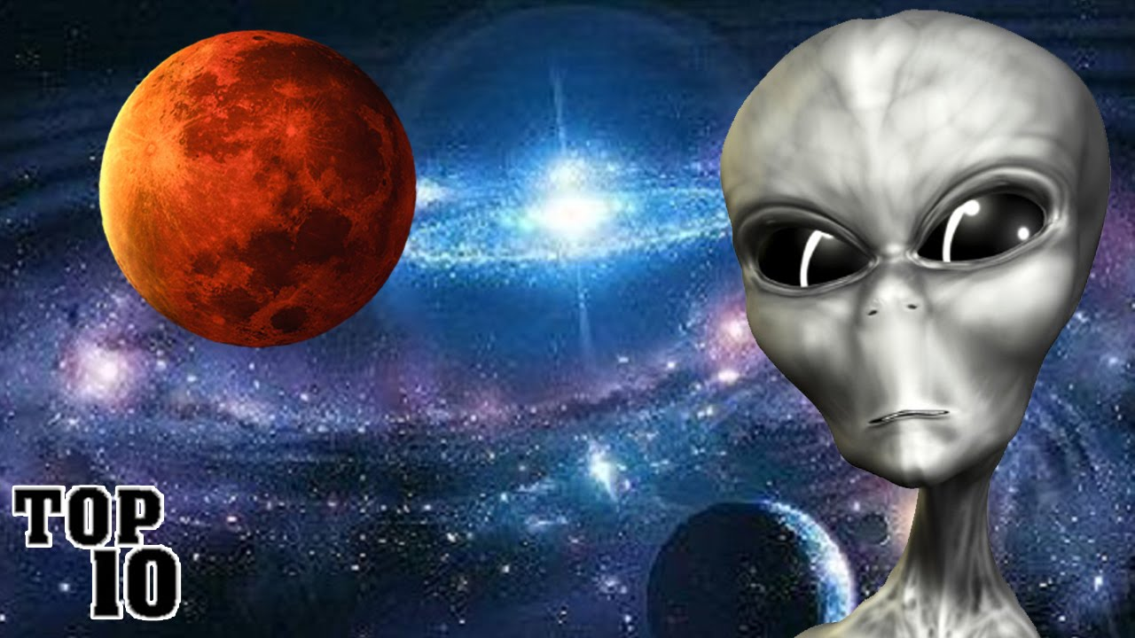 Top 10 Things Found In Outer Space - YouTube