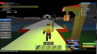 warfare in roblox ep.3 im a king