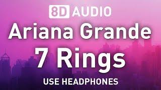 Baixar Ariana Grande - 7 Rings | 8D AUDIO 🎧
