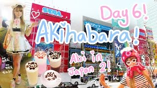One of Abipop's most viewed videos: I BECAME A MAID?!? | Day 6 - AKIHABARA | Maid Café's | Donkihote~!!♪ | Abipop in Japan 2015 ♡