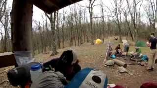 Clips from Smoky Mountains during our 2013 thru-hike of the Appalac...