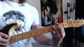 Easy Song Earth Angel - The Temptations - Guitar Lesson