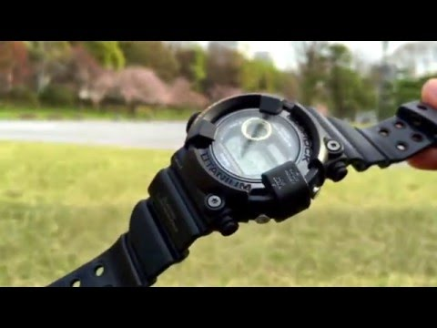 G-Shock FROGMAN DW-8200BM-1T Men In Black watch review