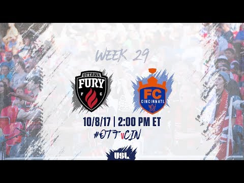 USL LIVE - Ottawa Fury FC vs FC Cincinnati 10/8/17