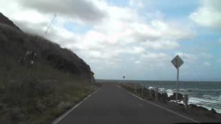北海道道740号北檜山大成線 全線開通後 北檜山→大成