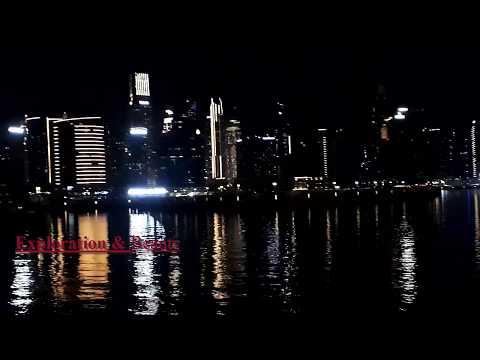 Business bay Water Canal side night View 2020 | Dubai Latest wonderful scene | Burj khalifa 2020