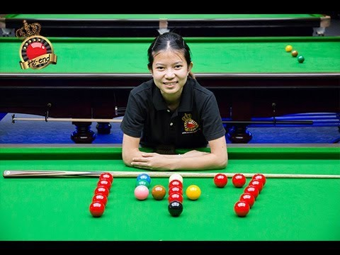 Mink 147!!! - Meet Mink !! The First Woman To Score 147 in Snooker