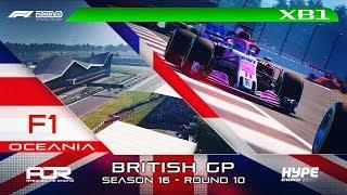 F1 2018   AOR Hype Energy F1 League   XB1 Oceania S3   R10: British GP
