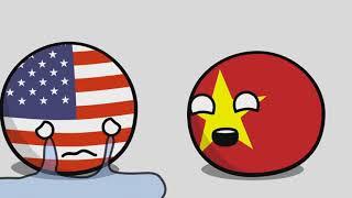 Американская война | Венгрия и Румыния - Countryballs [перевод]