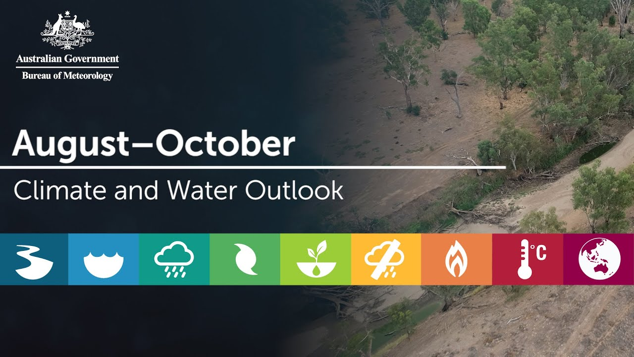 Climate outlook for August through October 2019 - NSW Rural Fire Service