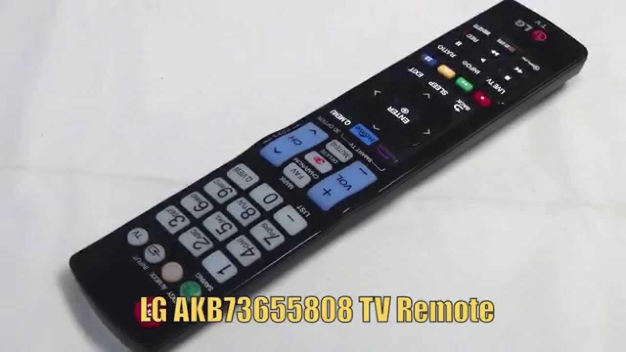 lg akb73655808 tv remote control www replacementremotes com youtube rh youtube com lg tv remote codes list lg tv remote codes 3 digit