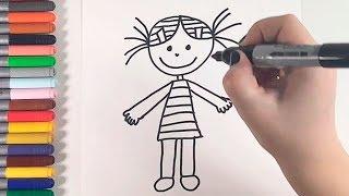 Aprendendo a Desenhar uma Menina