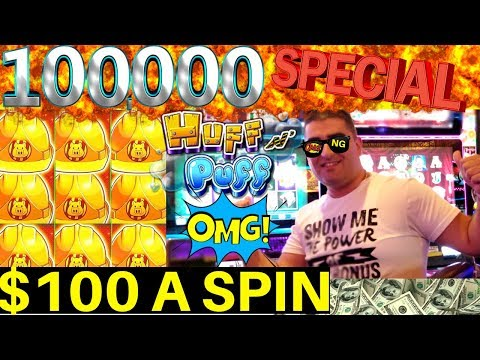 $100 A SPIN Live Stream  For 100,000 Subscribers! The Power Of NG SLOT's Bonus
