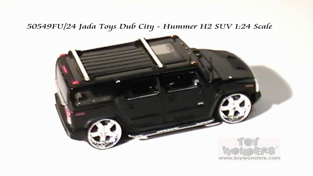 FU 24 Jada Toys DubCity Hummer H2 SUV 124 Scale Diecast