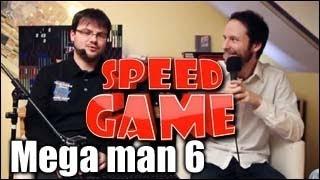 Speed Game - Mega Man 6 - Défi - Moins de 40 minutes