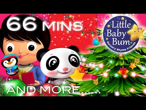 Christmas Songs | Jingle Bells Compilation part 2 | Plus More Children's Songs | LittleBabyBum!