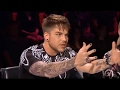 judges got surprisedadam lambert nearly fell off his chair